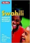 Book I used to help me learn phrases for my trip to Tanzania.