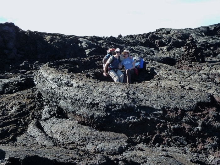 Amazing, other-worldly backpacking trip up Mauna Loa (Big Island).