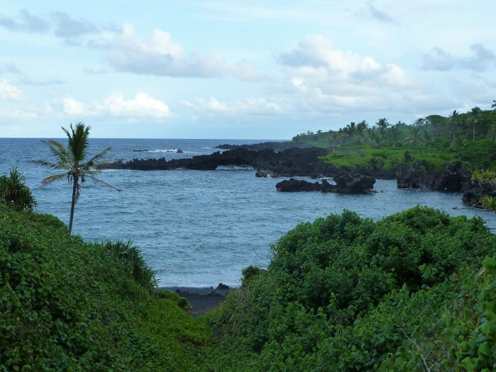 Beautiful view along the Hana Highway.